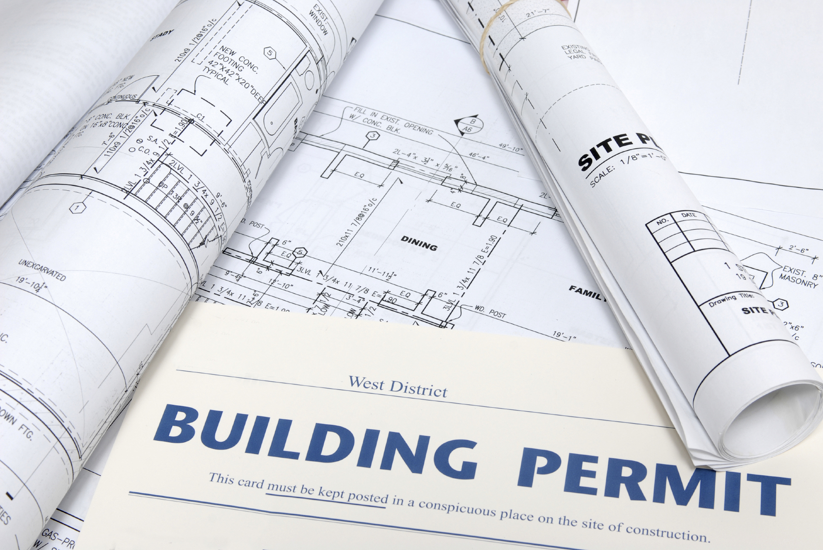 California permits comprehensive building permit report for Architectural plans and permits